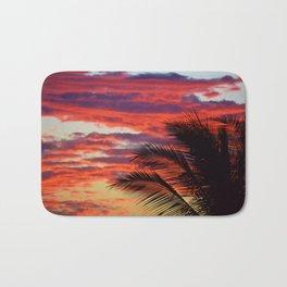 pomegranate sunset Bath Mat