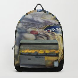 Drifting Car III Backpack