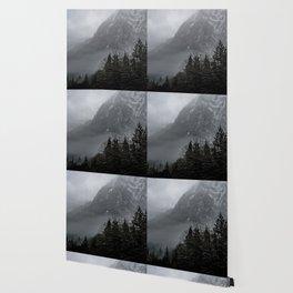 Misty peaks Wallpaper