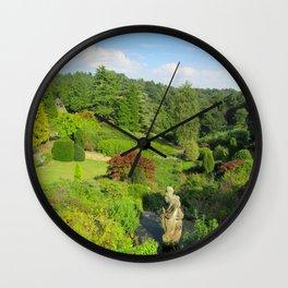 Alton Towers Gardens, uk Wall Clock