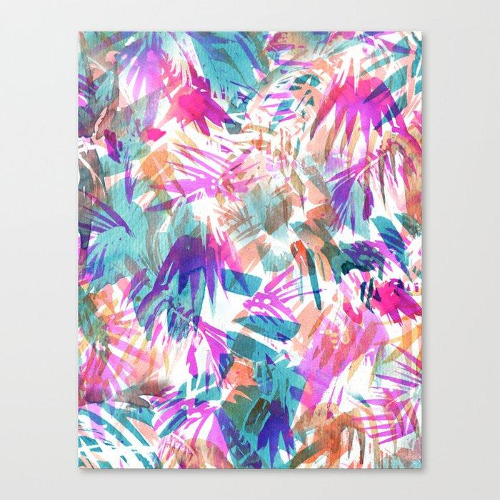 Palmtastic Canvas Print