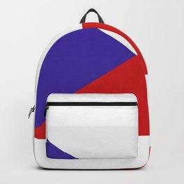 Czech Republic flag Backpack