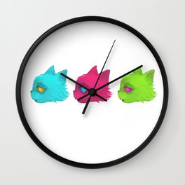 incatdescent Wall Clock