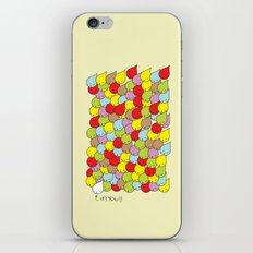 IT'S YOU iPhone & iPod Skin