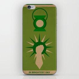 Minimalistic Lantern iPhone Skin