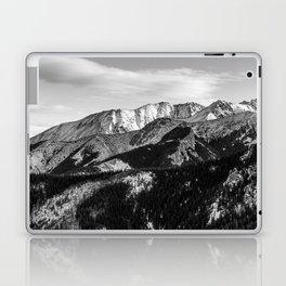 Black and White Mountains Laptop & iPad Skin
