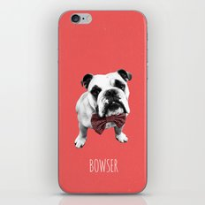 Red Bowser iPhone & iPod Skin