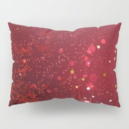 Background Color Marsala Pillow Sham