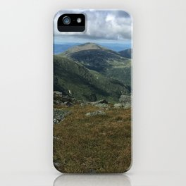 Franconia Ridge in the White Mountains, New Hampshire on the Appalachian Trail (AT) iPhone Case