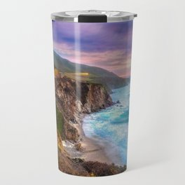 Big Sur Bixby Bridge Adventure Travel Mug