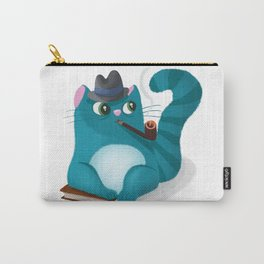 Professor Kitty Carry-All Pouch
