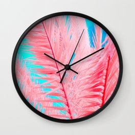 INFRAPALMS - 01 Wall Clock