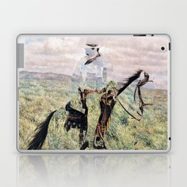The Unknown Rider in Death Rides The Pecos Laptop & iPad Skin