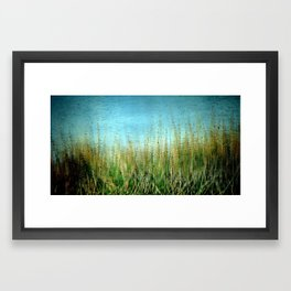 Disturbance Framed Art Print