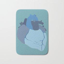 Melancholy Heart Bath Mat