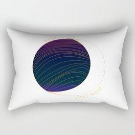 Wave after Wave Rectangular Pillow
