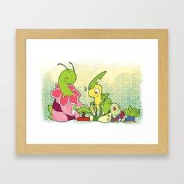 Johto Starters - The Chikos Framed Art Print