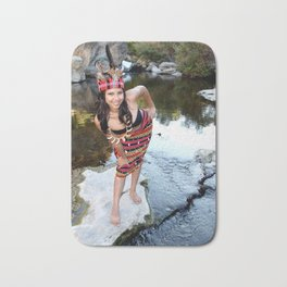 Indian Woman Bath Mat