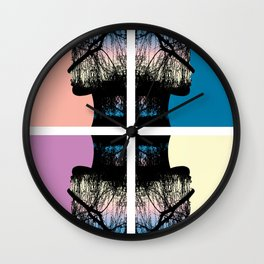 Four Ladies Wall Clock
