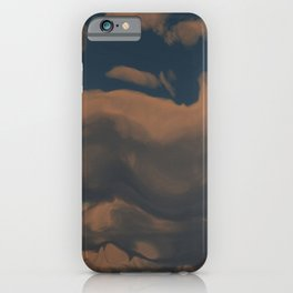Late Afternoon (Cloud series #2) iPhone Case