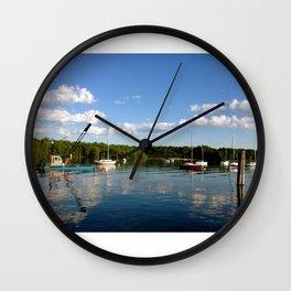 The Yacht Club Wall Clock