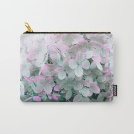 Soft Pastel Hydrangeas Carry-All Pouch