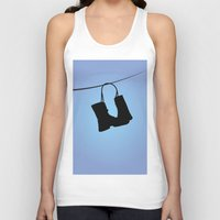 tim burton Tank Tops featuring Big Fish - Tim Burton by Cap'tain Cyan