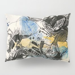 Clavius | astronaut floating in the space Pillow Sham