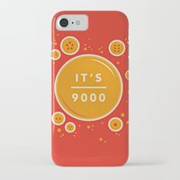 dragonball iPhone & iPod Cases featuring IT'S OVER 9000 (Dragonball) by Jacob Waites