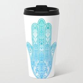 Hamsa Hand of Fatima Travel Mug
