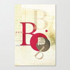 Perpetua B Canvas Print