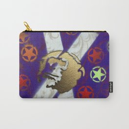 Monky Cross Bones Carry-All Pouch