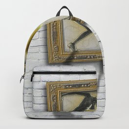 Woman Equal Rights Nudes Squares Pattern Backpack