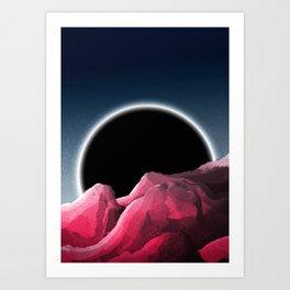 An event horizon Art Print