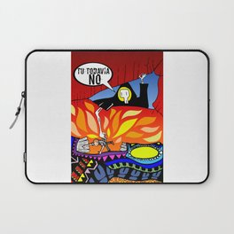 !!!Todavia no!!! Mr Death Laptop Sleeve