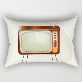 Vintage Television Rectangular Pillow