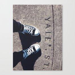 YALE Canvas Print