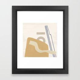Branded Abstract 10 Framed Art Print