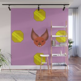 Bat of Wealth Wall Mural