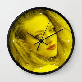 Amanda Seyfried - Celebrity (Florescent Color Technique) Wall Clock