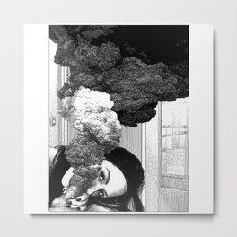 asc 891 - La déflagration (The blast) Metal Print