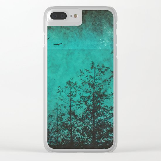 Faded Souls Clear iPhone Case