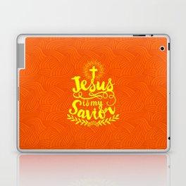 Jesus is my Savior Laptop & iPad Skin
