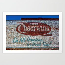 Cheerwine Sign 1 Art Print