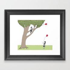 The Getting Tree Framed Art Print