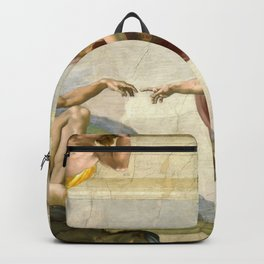 "Michelangelo ""Creation of Adam"" Backpack"