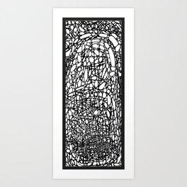 Organic I Art Print