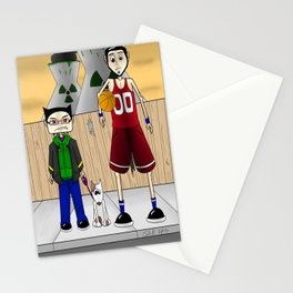 Sparky and Dunlap Stationery Cards