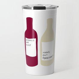 Love wine Travel Mug