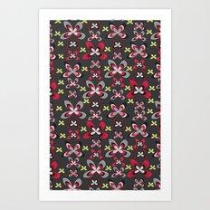 Modern Bloom Art Print